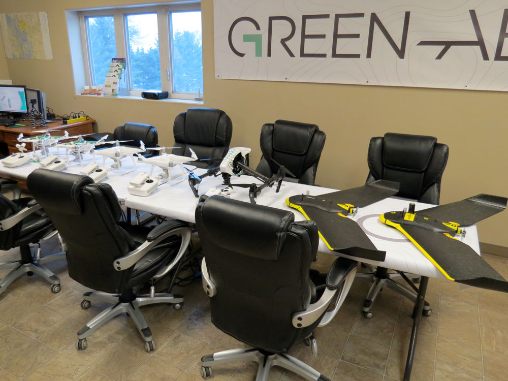 Green Aero Office UAV / Drone Technology Company