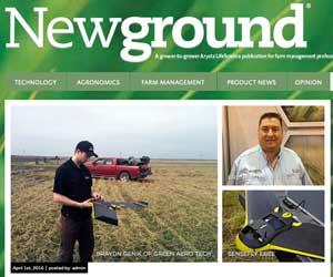Newground Magazine UAV / Drone Media Coverage