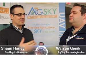 Real Agriculture Tech Tour Live Video Interview
