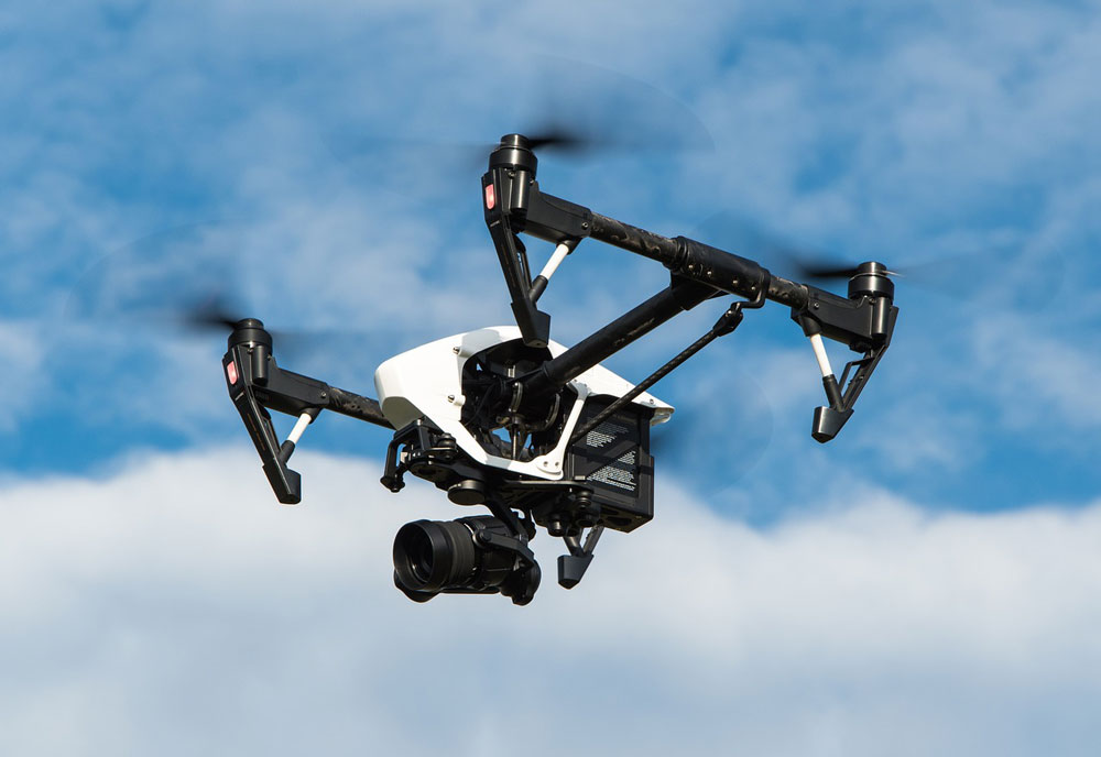 4K Video UAV / Drone Technology for Media