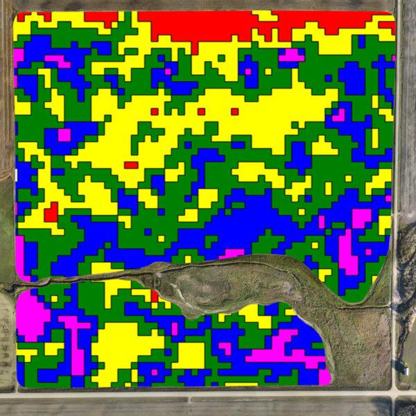 NDVI Data from UAV / Drone Technology