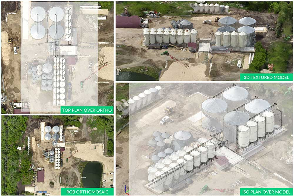 UAV / Drone Technology for Oil & Gas construction planning