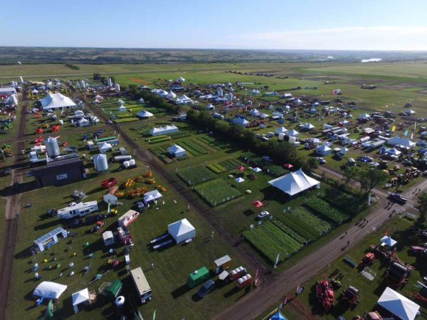 2016 Ag in Motion Aerial View