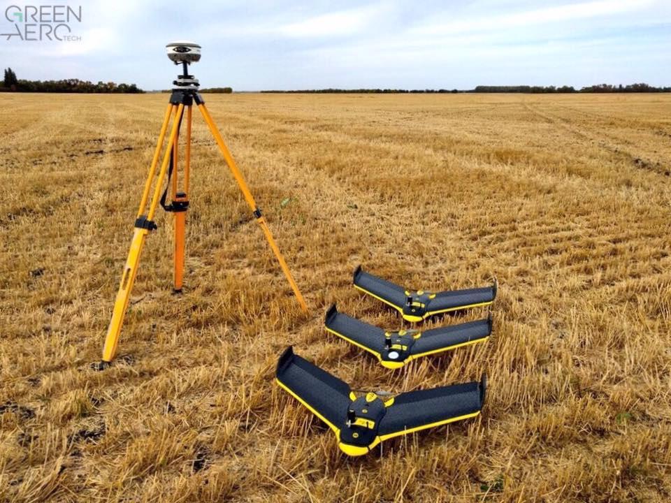 Green Aero Tech Drainage Drones